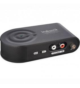 In-Akustik Premium Phono Pre-Amp + USB grabber, 00415004