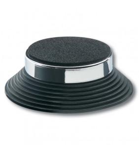 In-Akustik Exzellenz Bolide Absorber, 4 Set, chrome\black, 008550
