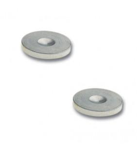 In-Akustik Star Plate mini, chrome, 008499