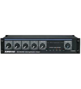 Микрофонный микшер Shure SCM268E