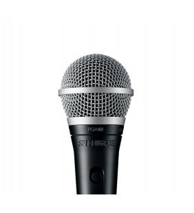 Вокальный динамический микрофон Shure PGA48-XLR