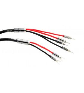 Акустический кабель Atlas Mavros 2x2, 2.0 м [разъем Банан Z типа, позолоченный]