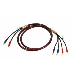 Акустический кабель  Van den Hul The Nova. 2,5 метра пара. Разъем BERRI (2-2) Цвет красный