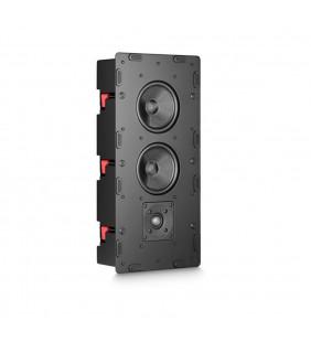 Встраиваемая акустическая система M&K Sound IW950 в корпусе. Металлический прямоугольный гриль под покраску. Цвет: Белый