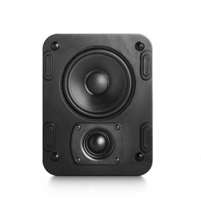 Встраиваемая акустическая система M&K Sound IW5. Металлический круглый гриль. Цвет: Белый.
