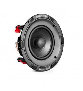 Встраиваемая акустическая система M&K Sound IC95. Гриль круглый. Цвет: Белый. Пара