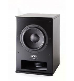 Активный сабвуфер M&K Sound Push-Pull X12, Мощность 400 ватт.  Цвет: Матовый черный